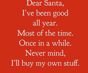christmas, funny, and quotes image