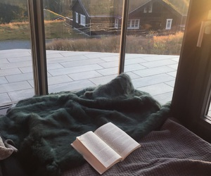 book, cabin, and norway image