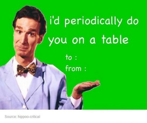 ded, bill nye, and valentine cards image