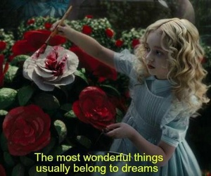 alice in wonderland, fantasy, and magical image