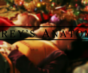 christmas, grey's anatomy, and lexie grey image