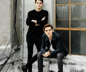 jack harries, finn harries, and boy image