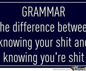 quote, funny, and grammar image