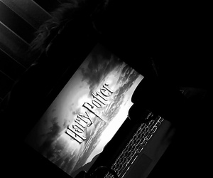 harry potter, computer, and film image