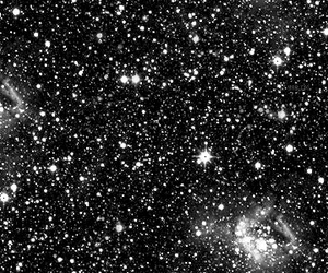 stars, black, and black and white image