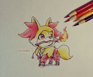 pokemon and fennekin image