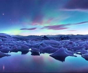 ice and iceland image