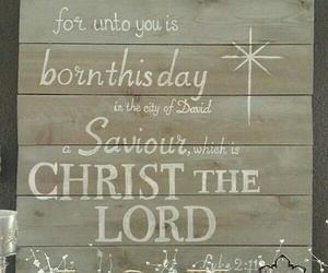christmas, Christ, and holiday image