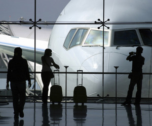 airport and plane image