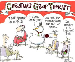christmas, funny, and santa image