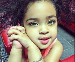 baby, eyes, and beauty image