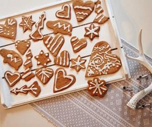 christmas, festive, and food image