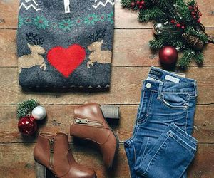 fashion, winter, and christmas image