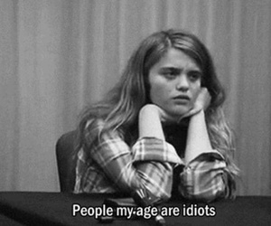idiot, people, and quotes image