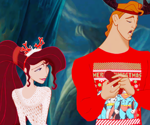 christmas, disney, and hercules image