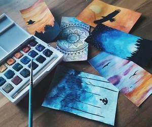 watercolor and hallo grüß dich image