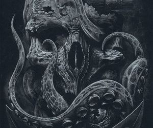 anchor, gift, and skull image