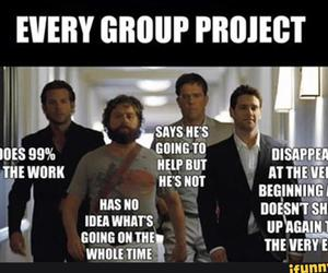 funny, hangover, and project image