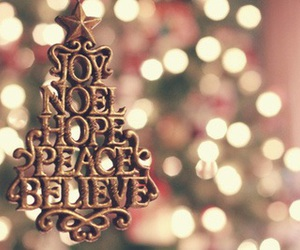 christmas, joy, and believe image