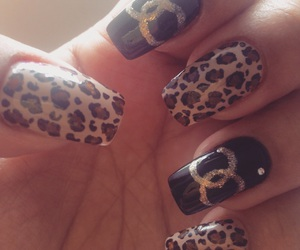 art, nails, and chanel image