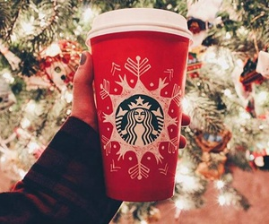 coffee, december, and holiday image
