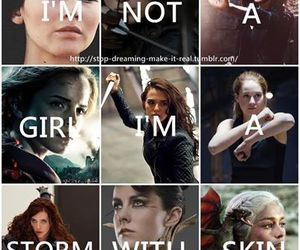 girl, divergent, and harry potter image