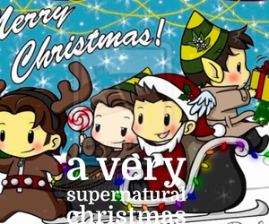 christmas, supernatural, and love image