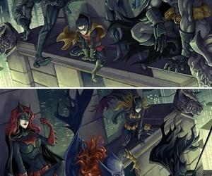 batman, batgirl, and red hood image