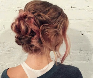 braid, hairstyle, and messy image