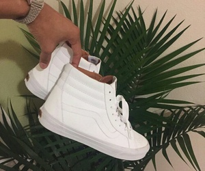 shoes, vans, and white image