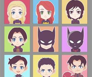 batgirl, redhood, and spoiler image