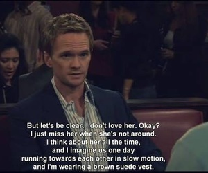Barney Stinson, love, and himym image