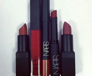 nars, makeup, and black image