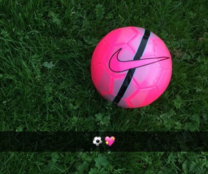 foot, nike, and pink image