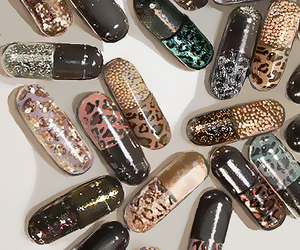 pills, drugs, and glitter image