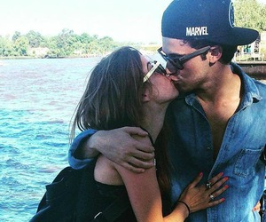 couple, kiss, and cande molfese image