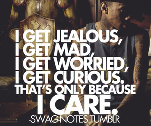 curious, jealous, and mad image