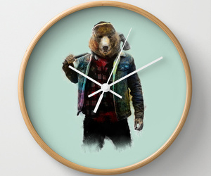 accessory, wall clock, and clock image