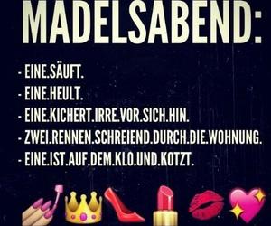 girls, friends, and mädelsabend image