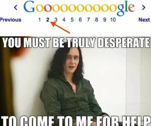google, funny, and loki image