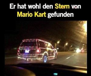 car, street, and super mario image