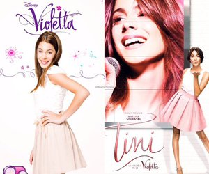 famous, girl, and violetta image