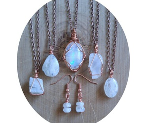 copper, jewelry, and mermaid image