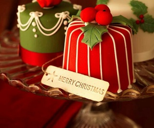 christmas and cake image
