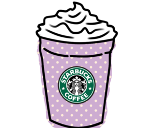 starbucks, transparent, and tumblr image