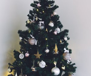christmas, christmas tree, and eirinkristiansen image