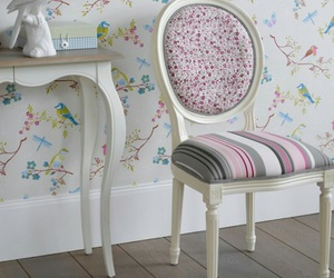 boudoir, chaise, and rose image