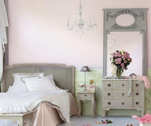 boudoir, Chambre, and rose image