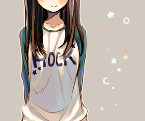 345 images about brown hair anime girl on we heart it see more anime drawing and lovely image voltagebd Choice Image