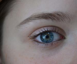 eye and girl image